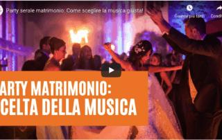musica al party del matrimonio